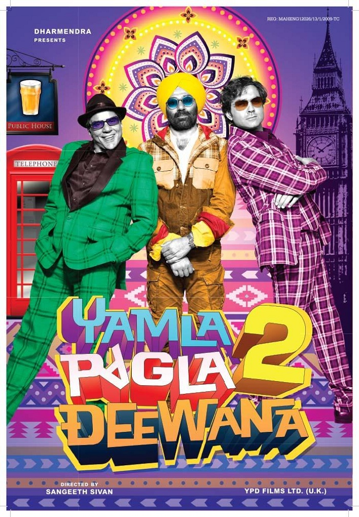 Download Film Yamla Pagla Deewana 2 2013