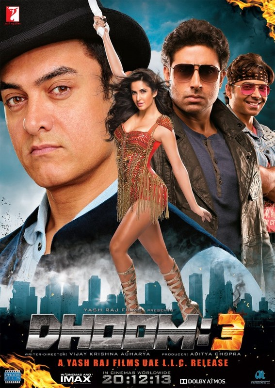 Dhoom 3 Dvdrip (2013)
