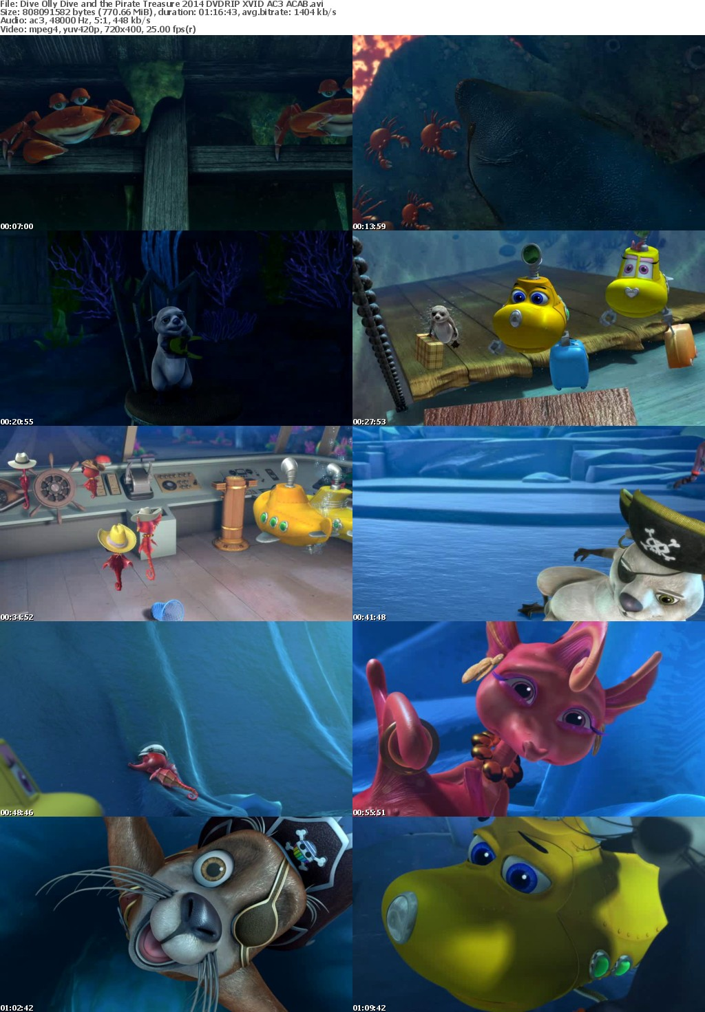 Dive Olly Dive And The Pirate Treasure (2014)Dive Olly Dive And The Pirate Treasure (2014)