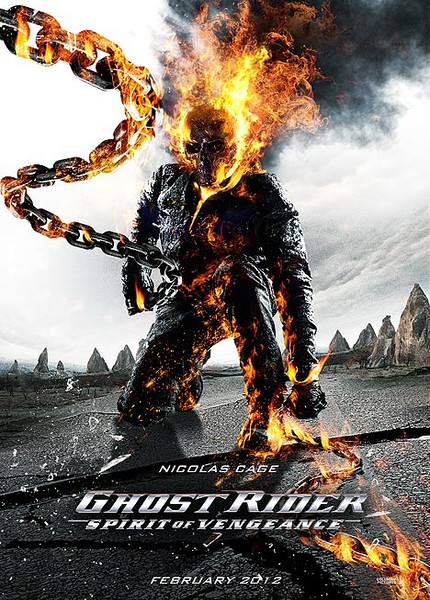 Ghost Rider 2 (2012) Dual Audio