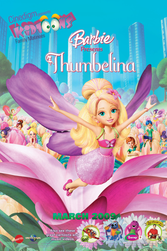 Meet the Characters from Barbie Presents: Thumbelina (click to see all)