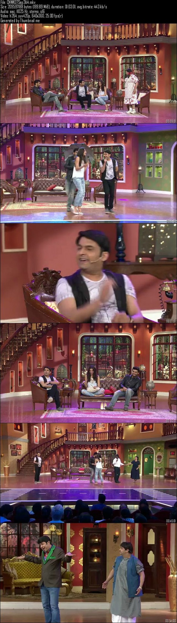Comedy Nights With Kapil 7th September (2014)
