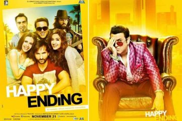 Happy Ending (2014) Hindi Movie Free Download DVDSCr 250MB