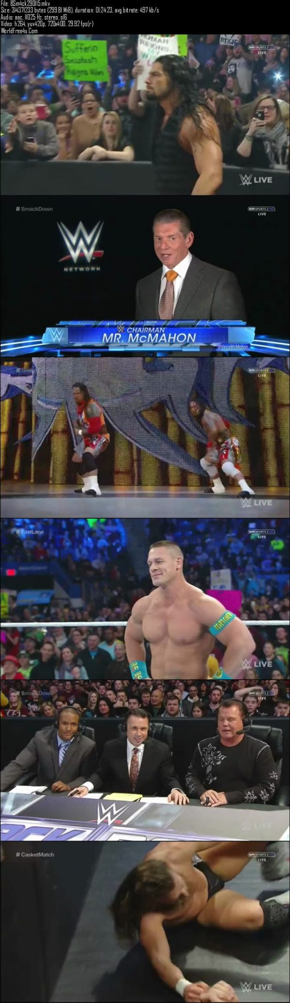 WWE Thursday Night SmackDown 29th January (2015)
