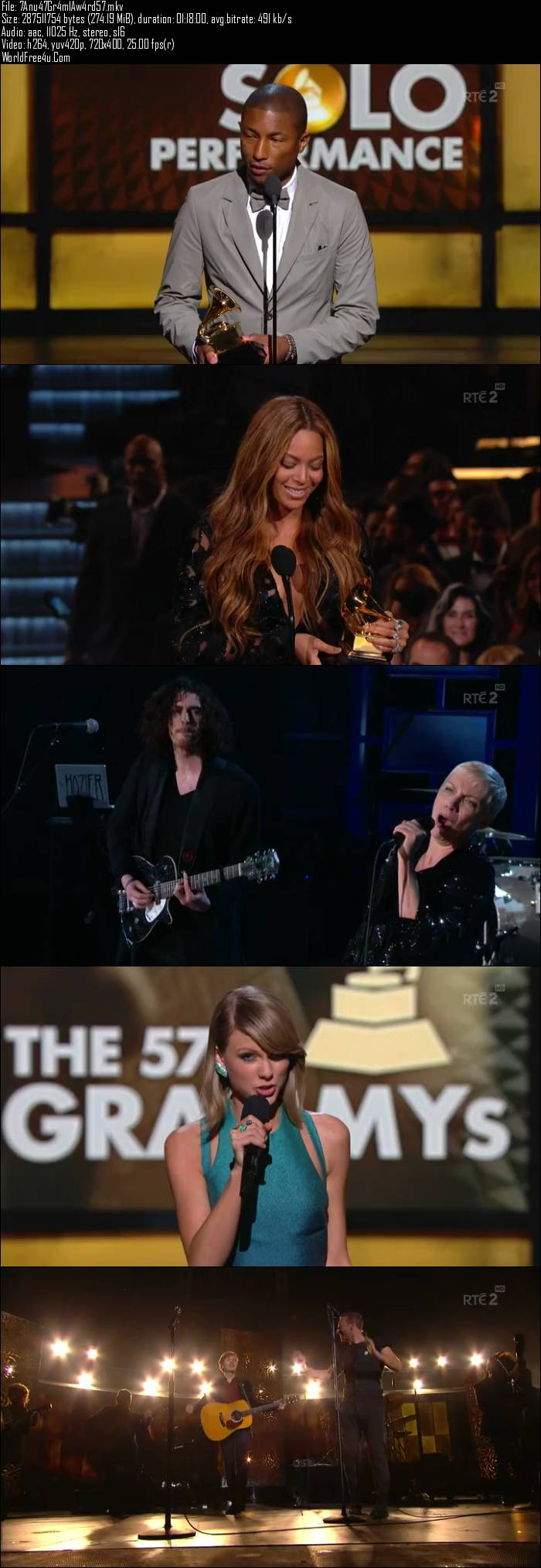57th The Annual Grammy Awards (2015)