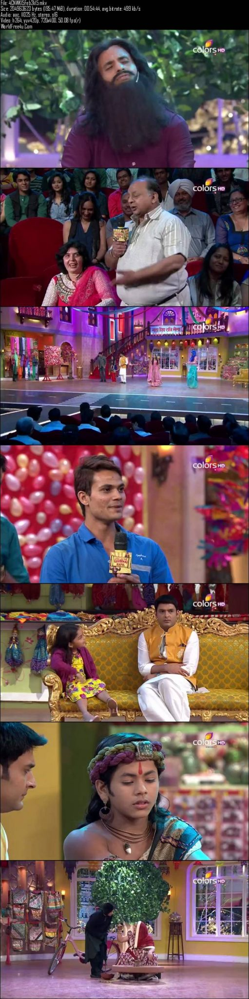 Comedy Nights With Kapil 15th February (2015)