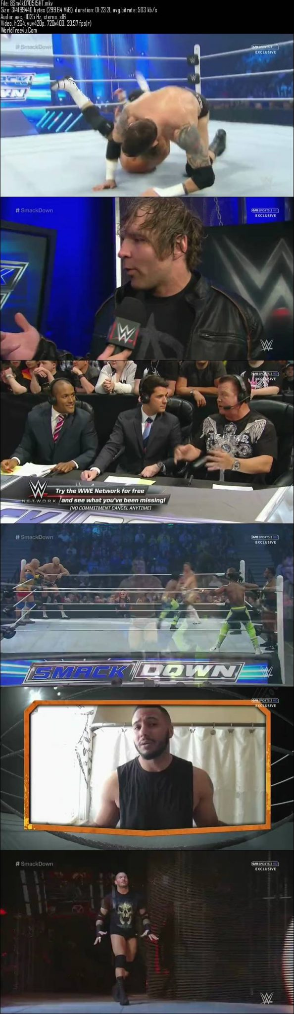 WWE Thursday Night SmackDown 7th May (2015)