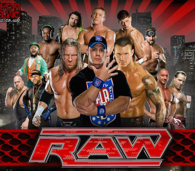 WWE Monday Night Raw 25