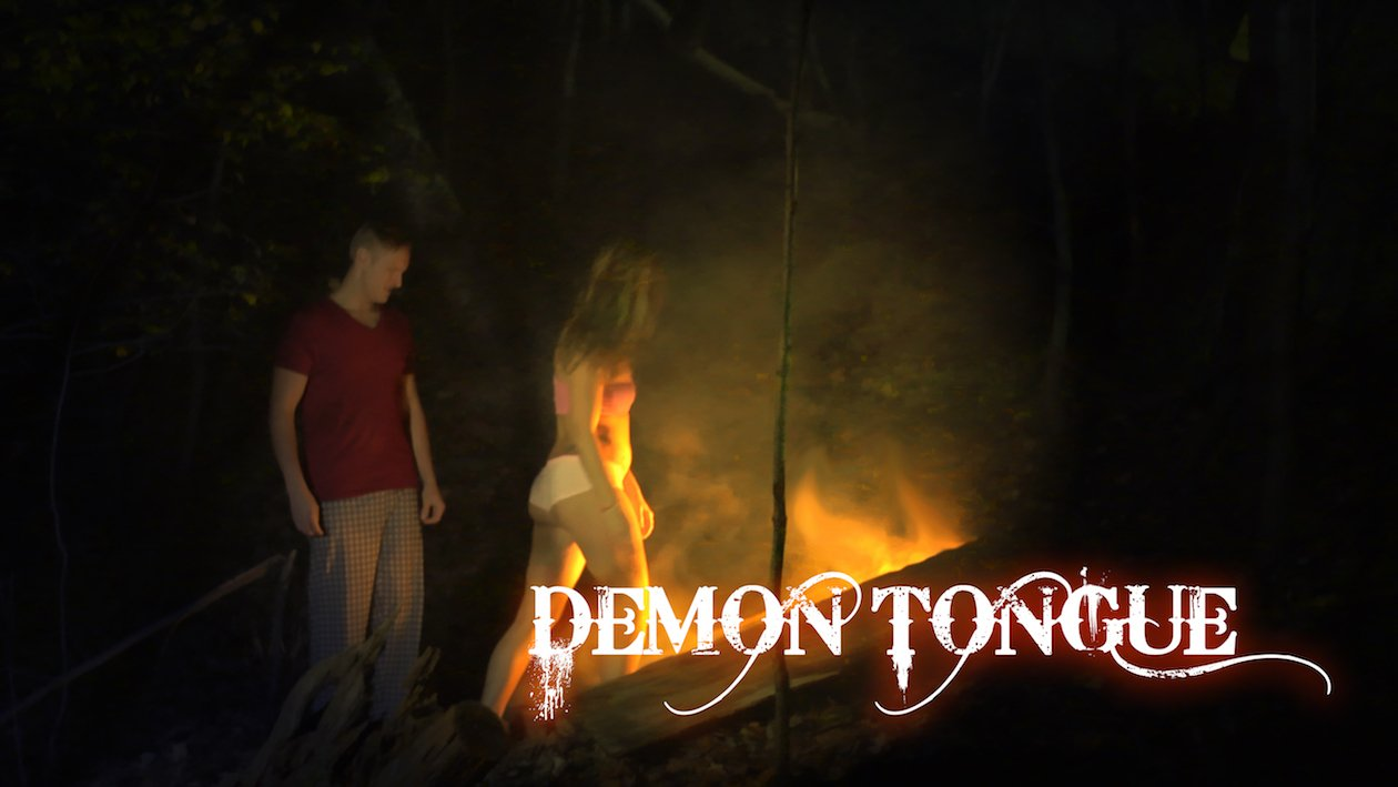 Demon Tongue (2016) English DVDSCR 200MB-1