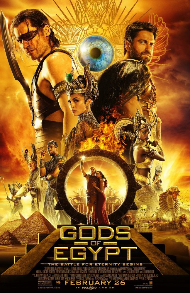 Gods Of Egypt 2016 English BluRay 1080p