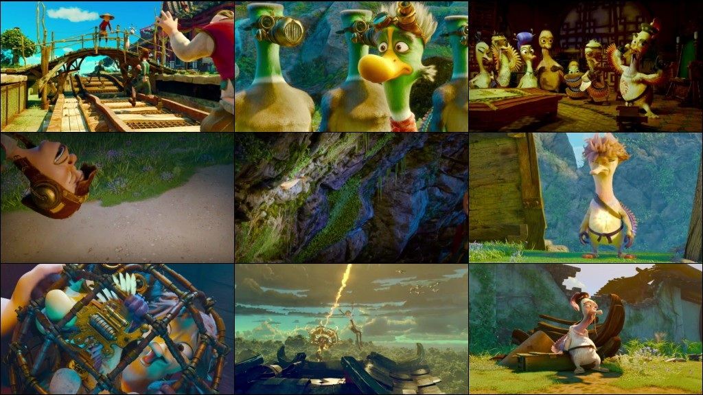 Quackerz 2016 English BluRay 720p-2