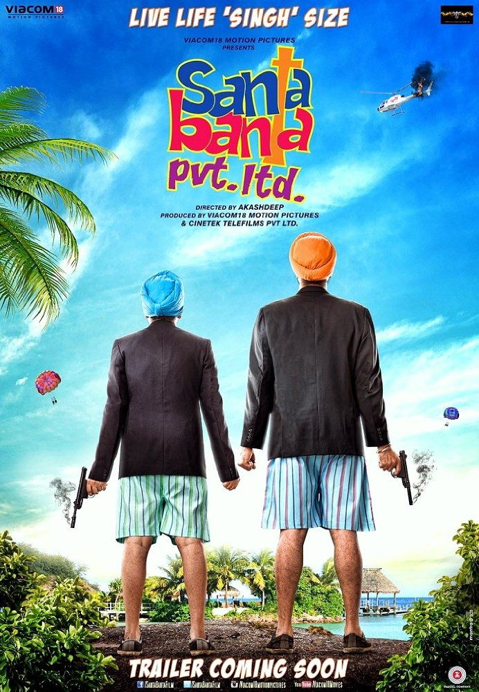Santa Banta Pvt Ltd 2016 Hindi DvDRip 720p