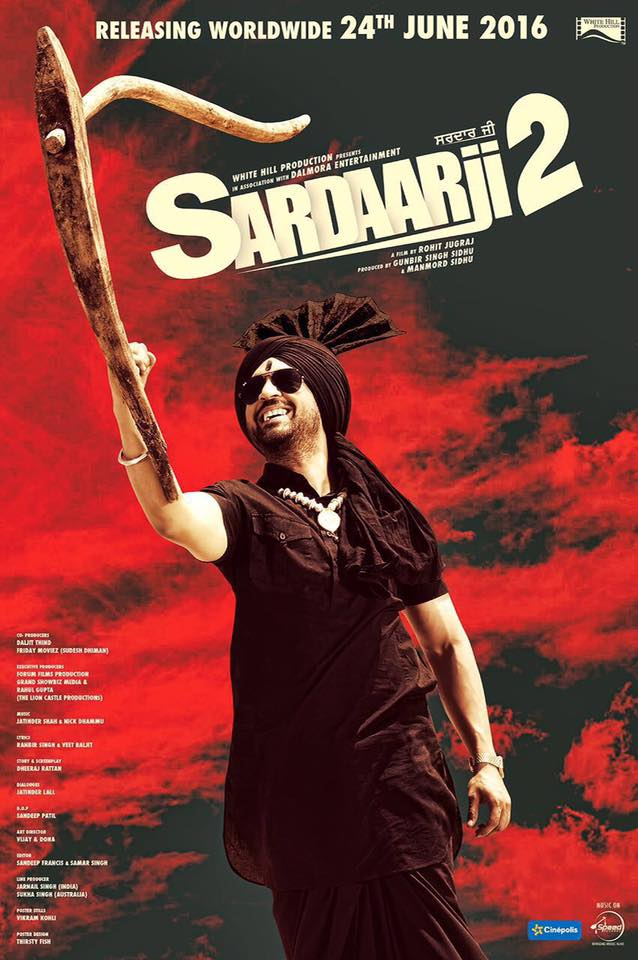 Sardaarji 2 (2016) Punjabi Movie DVDscr 300MB
