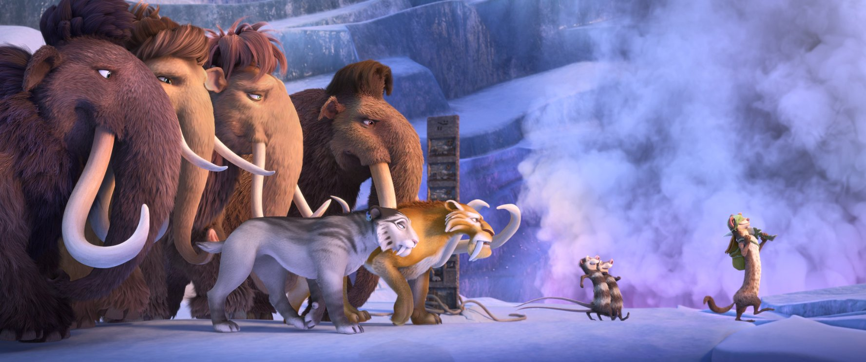 Ice Age Collision Course (2016) English DVDRIp 400MB-2