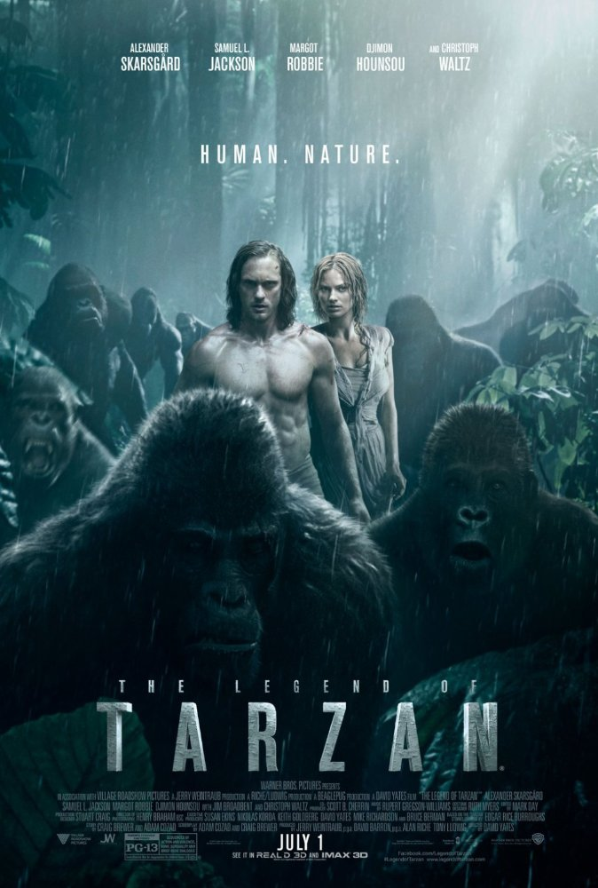 The Legend of Tarzan 2016 Hindi Dubbed DVDRIP 600MB4